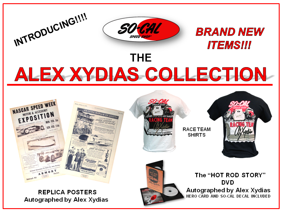 Alex Xydias Collection Banner