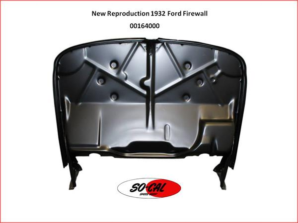 1932 Ford Stock Style Reproduction Firewall